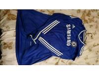 Chelsea long sleeved home shirt 2xl