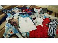 18-24 months boys vests and night clothes