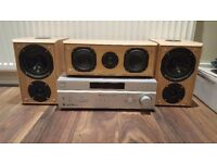 Sony Amplifier and Eltax Speakers