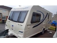 bailey Pegasus Genoa II 2011 immaculate alu body atc control mover awning extras