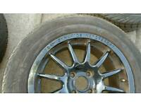 4x vauxhall astra/corsa 4 bolt wheels with tyres 195/65-15