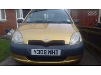 Toyota yaris 1.0 vvti tidy example! 1 lady owner last 16 years!