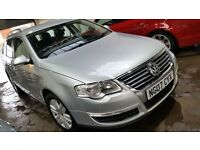 2007 VW PASSAT 2.0 TDI ** AUTOMATIC **SAT NAV-ELECTRIC HEATED LEATHER-CRUISE CONTROL-(PART X WELCOME