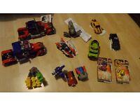 Various Transformers, job lot