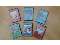 Hans Christian Anderson animated 6 x DVD set in excellent condition
