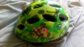 Childs bike scooter helmet