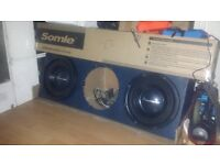SUBS BOX 12INCH THIS IS GOOD WITH 3 SUBS IN £120 ONO