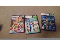 Kinect 360 Sensor + 3 games. Boxed. Very good condition