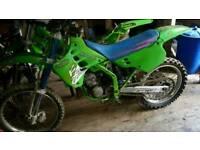 Kx 125 £750 ono