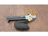 titan 2800 watt electric leaf blower/vac