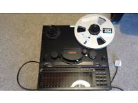 Fostex E-16 reel to reel tape recorder