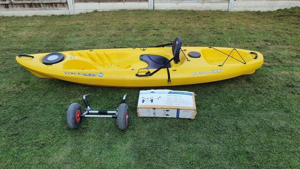 Wilderness Systems Tarpon 100 Kayak With Trolley Sit On Top In Dursley Gloucestershire Gumtree
