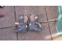 Kids alpine motorcross boots size2 £10
