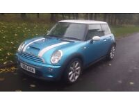2002 MINI COOPER 1.6 S 106600 MILES PRIVATE PLATE (Y666AHA) INCLUDED PRICED TO SELL NO OFFERS