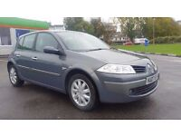 RENAULT MEGANE 1.6 AUTOMATIC IN CLEAN CONDITION. LONG MOT. 2 OWNERS. 2 KEYS. PREVIOUS MOTS AVAILABLE