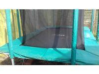 Sky High 7ft x 10ft trampoline
