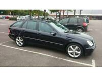 Mercedes c180, c class, estate, low mileage 62k, alloys, avantgarde