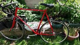 Raleigh pursuit racing road bike 25 inch frame