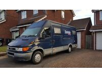 Iveco daily 2.8tdi camper/race/day van