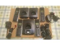 BT SYNERGY 5500 HOME PHONE AND ANSWER MACHINE
