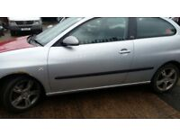 SEAT IBIZA FR SILVER LS7Y FULL CAR BREAKING. MOST PARTS AVAILABLE.