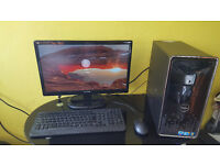 eXtreme Gaming & Workstation DeLL PC i5 Quad -Core 8gb-Ram 1GB Video 128GB SSD + 1TB Win10