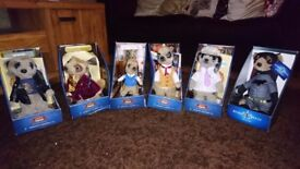 Compare the Meerkat toys 6 in original boxes