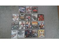 Playstation 3 SLIM 320mb and 38 games