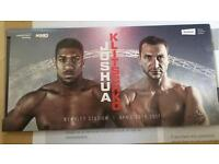 2 X ANTHONY JOSHUA TICKETS AVAILABLE ONLY £200 EACH!!!