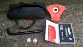 Alko caravan security wheel lock - 2 available