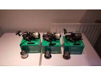 3 x Daiwa Windcast 5000LDA BR reels