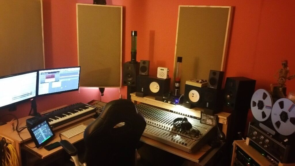 Astounding Rehearsal And Music Production Room For Monthly Hire Bn41 The Largest Home Design Picture Inspirations Pitcheantrous