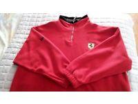 Official Ferrari Fleece, Size XXL