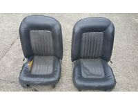 FORD MK 2 CORTINA FRONT SEATS