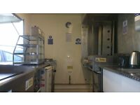 """Catering Trailer 10x6.6"""" Best size Full of goodies for making Money Super Condition inside and out"""
