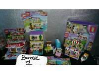 Large bundle lego friends sets