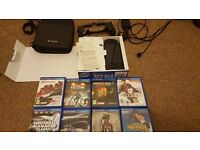 Sony PS Vita Console, Accessories and 8 games
