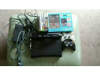 Xbox 360 120gb hdd plus Kinect