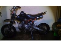 Demon x 125 pitbike message me for more info