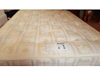 King Size Pocket Sprung Mattress (barely used)