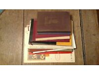 Job lot of engineering and drawing catalogues from the 40s and 50s