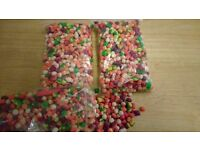 Fishing Bait - Pop ups (mis-shapes) approx 200g