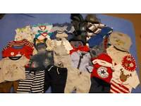 Boys clothes 3-6 mths