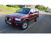 Vauxhall Frontera 4x4 for sale .MOT