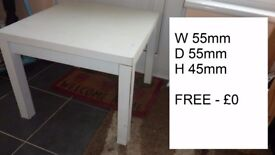 Free Furniture to go. Table