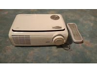 Optoma HD65 DLP Projector with 92inch Screen and 5m Composite Cable