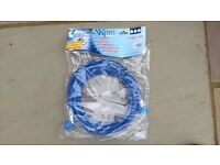 Brand new 3.5m cold water inlet hose for dishwasher or washing machine