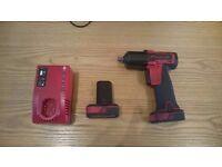 Snap on lithium battery gun & Snap on bag