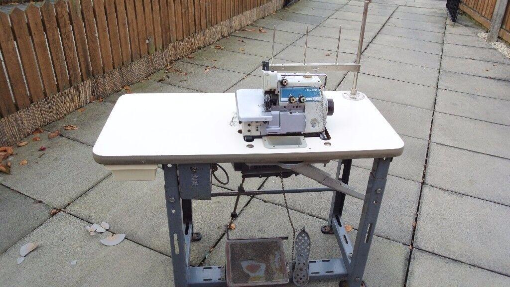 Singer Industrial OVERLOCKING sewing machine 3 Thread Overlocker