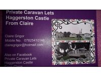 Private Caravan Lets Haggerston Castle From Claire